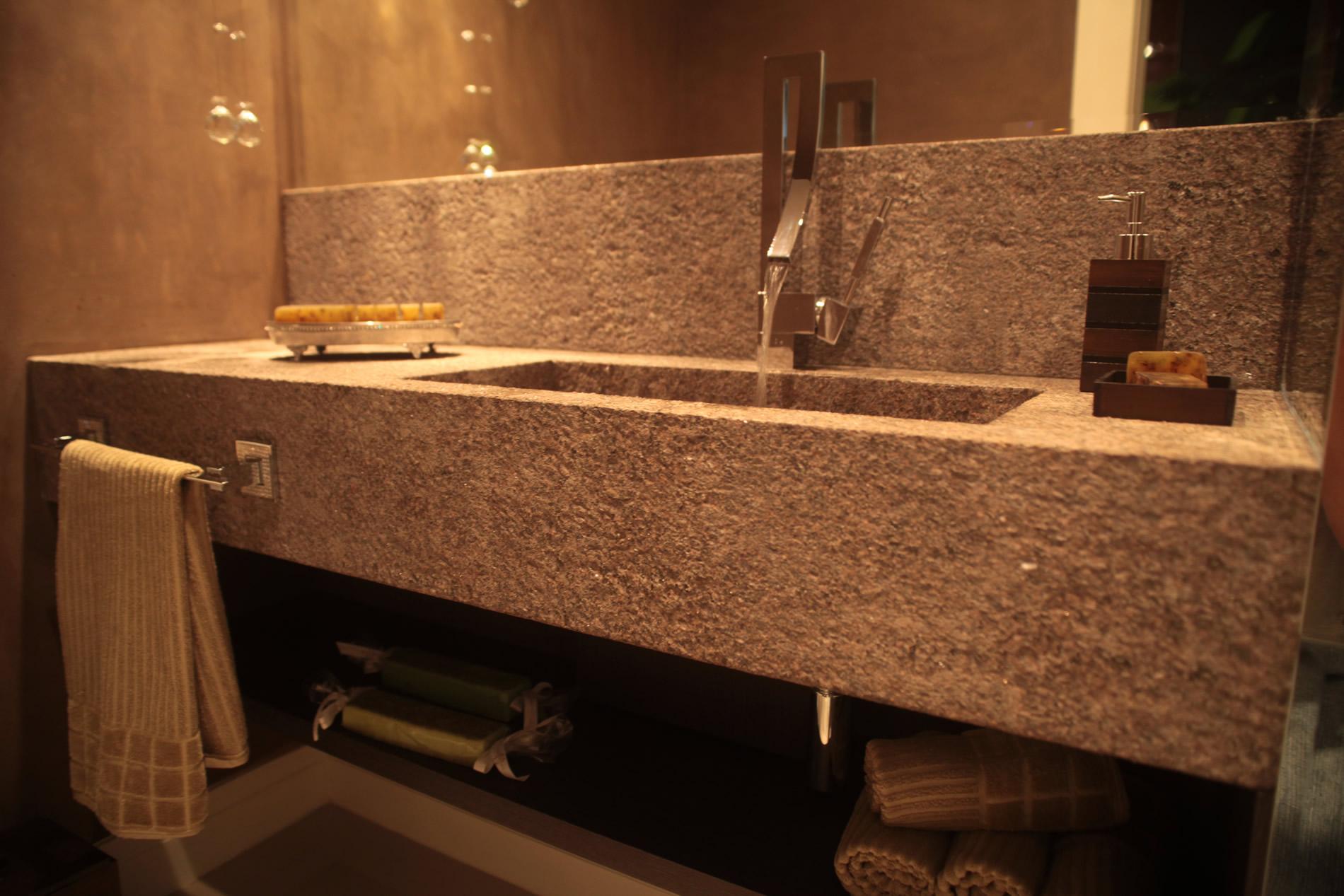 gemauerter waschtisch der gemauerte waschtisch im bad. Black Bedroom Furniture Sets. Home Design Ideas
